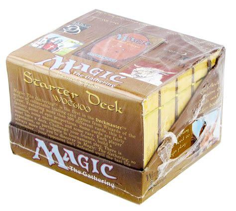 magic the gathering 3rd edition revised tournament starter box 10 decks da card world
