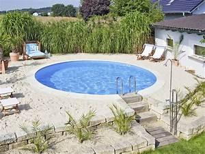 Stahlwandpool In Erde Einlassen : pool selber bauen swimmingpool im garten ~ Markanthonyermac.com Haus und Dekorationen
