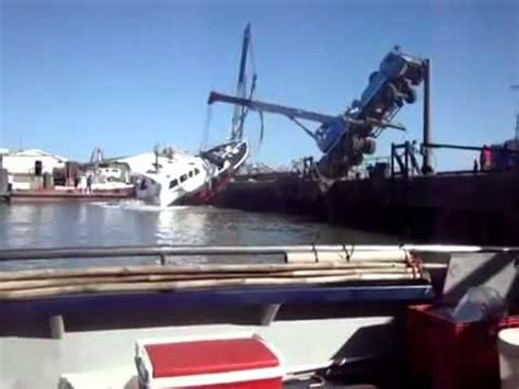 Tug Boat Accidents Youtube by Boat Launching Accident Funny Youtube