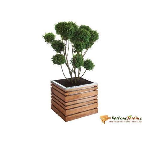 bac 224 fleurs en bois carr 233 lign z 50 achat vente