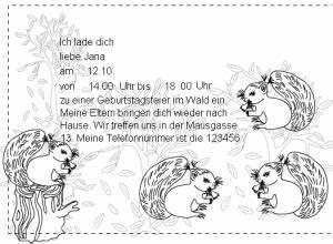 Einladung Kindergeburtstag Wald : einladung geburtstag wald gute geburtstagsspr che ~ Markanthonyermac.com Haus und Dekorationen