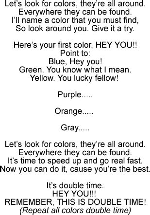 Row Your Boat Lyrics Az by Colors Action Song For Teaching Children To Identify Colors