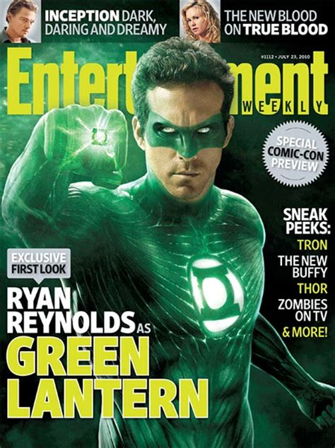 green lantern costume is in a bad way