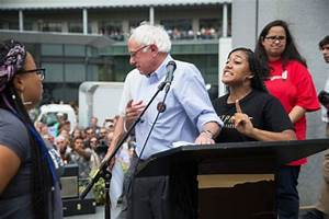 Bernie Sanders, #BlackLivesMatter, & Free Speech -- NYMag