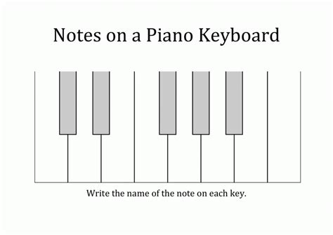 Theory Substruction Paper Template by Piano Worksheets For Beginners Printable Free Worksheets