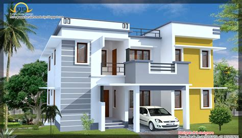 Home Design N Colour : Modern Contemporary House Elevation