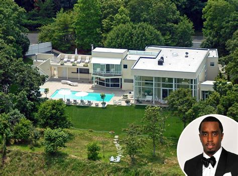 Sean Diddy Combs From Celebrity Homes In The Hamptons  E