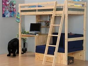 Hochbett Kiefer Massiv : etagenbett flexi hochbett 90x190 bett kiefer massiv neu ebay ~ Markanthonyermac.com Haus und Dekorationen
