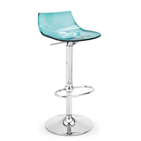 tabouret r 233 glable design en plexi led 4 pieds tables chaises et tabourets