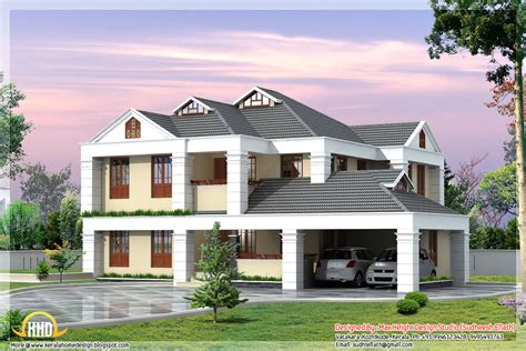 3 Beautiful Kerala Home Elevations  Kerala Home Design