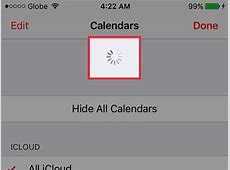 How to Manually Refresh Calendar Data on an iPhone 9 Steps