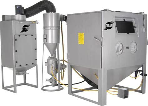 100 abrasive blast cabinet vacuum dustless dust