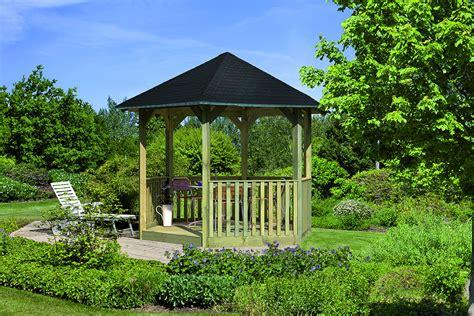Holz Pavillon Fur Den Garten Bvraocom