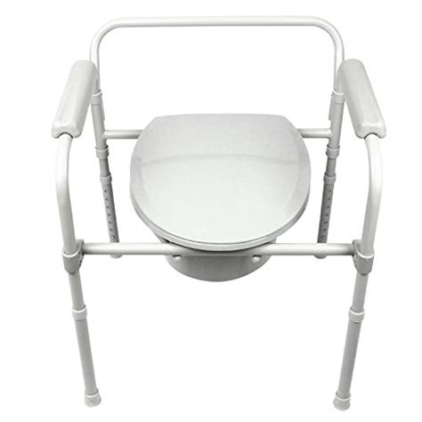 commode by vive bedside commode for seniors handicap bariatric elderly portable
