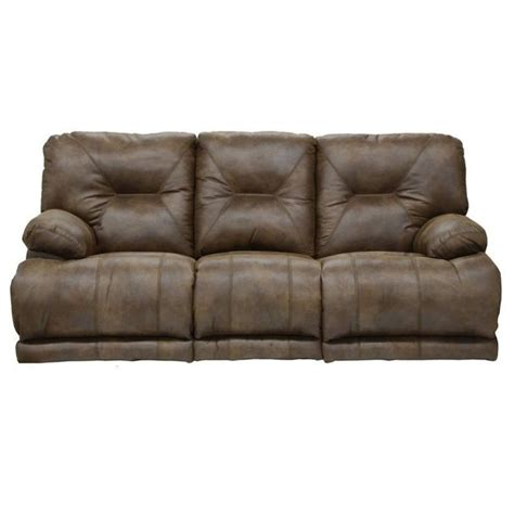 catnapper voyager power lay flat reclining sofa in elk 64381122829302829