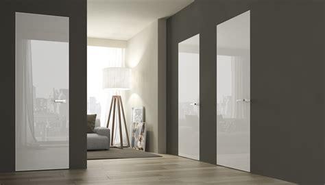 porte interieur blanc laque architecture design sncast