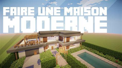 faire une maison moderne dans minecraft