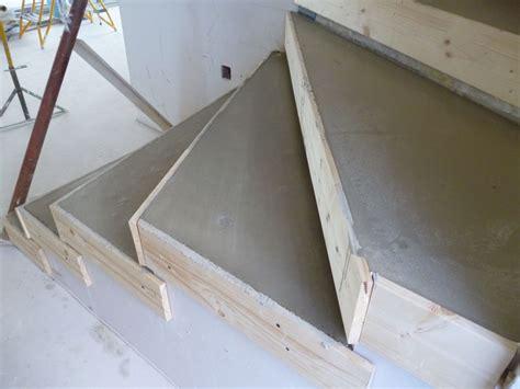 comment faire un coffrage escalier avant carrelage