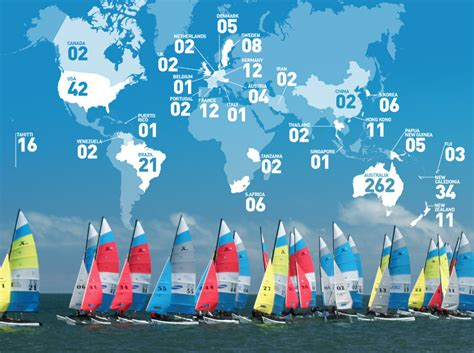 Catamaran Hire Jervis Bay by Record Numbers Register To Compete In Hobie 16 174 World
