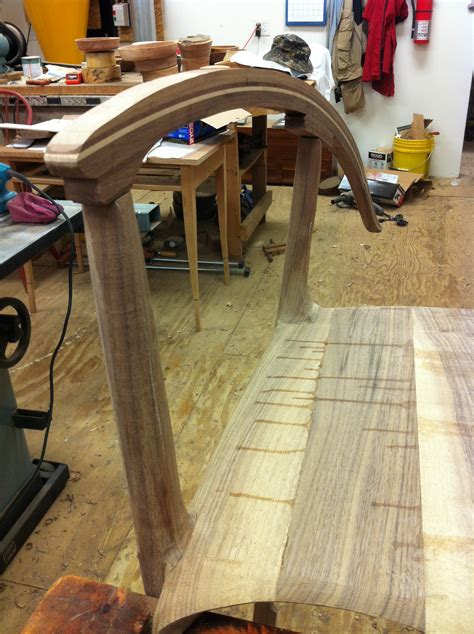from the chair lines and soft lines on the maloof inspired rocker kit woodworking