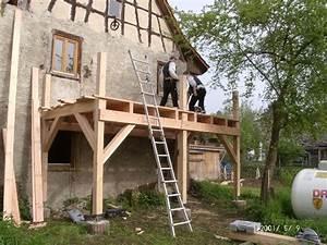 Holz Treppenstufen Erneuern : zimmermeister hubert dufner treppen balkone terassend cher ~ Markanthonyermac.com Haus und Dekorationen
