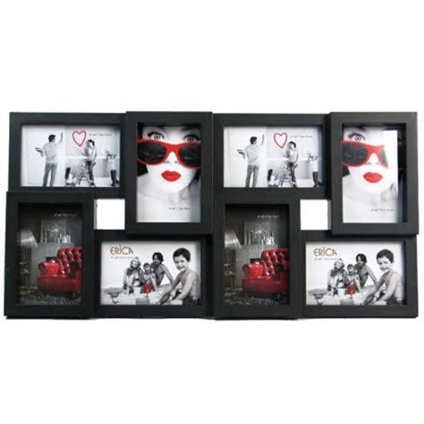 cadre photo multi vues p 234 le m 234 le noir 28 5 x 56 8 x 2 5 cm