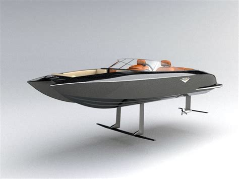 Fast Boat Electric by Speed Boat Electric Hydrofoil Evnerds