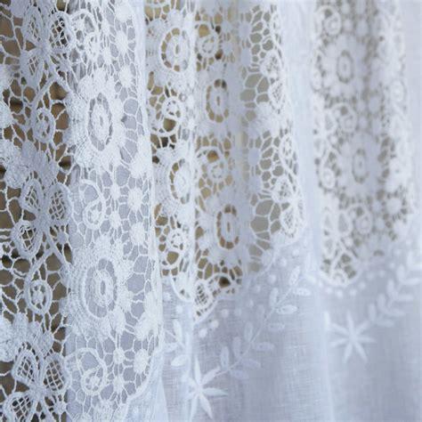 rideau nantes blanc en gaze de maison d 233 t 233