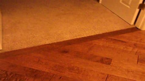 Hardwood Flooring Threshold Transition Seal