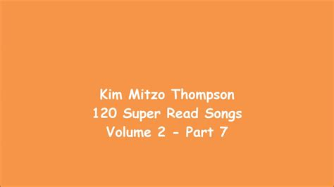 Kim Mitzo Thompson -120 Super Read Songs Volume Two (part