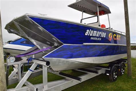 Used Power Catamaran Fishing Boats by Used Aluminium Power Catamaran For Sale Boats For Sale