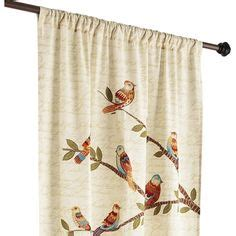 new anthropologie weaver bird curtains 63 quot x 84 quot window treatments birds
