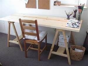 Selber Bauen Aus Holz : diy projekt schreibtisch selber bauen 25 inspirierende beispiele und ideen ~ Markanthonyermac.com Haus und Dekorationen