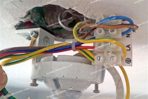 branchement 201 lectrique questions r 233 ponses probl 232 mes branchement ventilateur de plafond