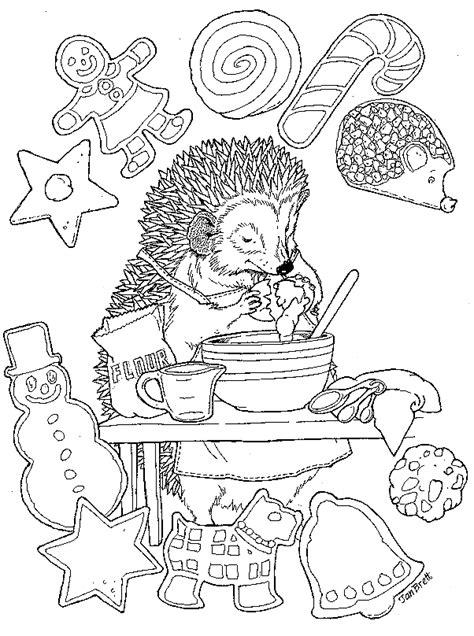 Halloween Colouring Books For Adults hedgie s cookies
