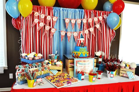 Best Carnival Birthday Party Ideas