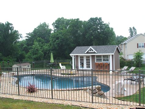 home pool house designs and ideas from the amish