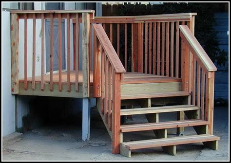 deck stair railing post attachment decks home decorating ideas l12y6d9p9e