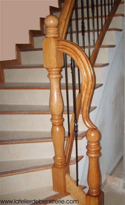 escalier fer forge