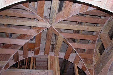 Groin Vault Ceiling Framing by Gallery Groin Vault Ceiling