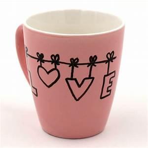 Tassen Zum Selbst Bemalen : tassen bemalen mit porzellanstiften happy dings diy blog und tipps f r ein gl ckliches leben ~ Markanthonyermac.com Haus und Dekorationen