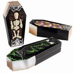 Deko Sarg Halloween : 3 pappschachteln mit sichtfenster sarg halloween deko pinterest halloween sarg und ~ Markanthonyermac.com Haus und Dekorationen