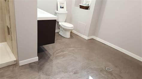 refaire votre plancher de salle de bain b 233 ton surface