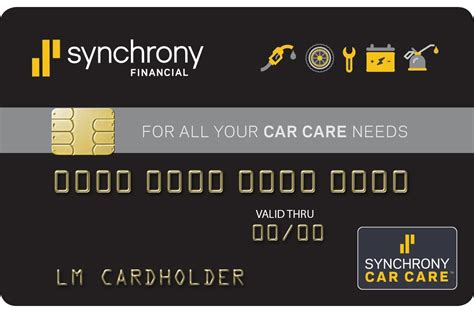 Upgraded Synchrony Car Care Discover Credit Card Rocks