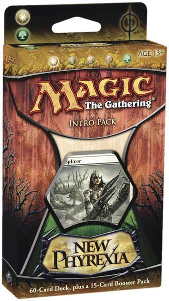 New Phyrexia Green Event Deck New Phyrexia Product Pack Starter Decks And