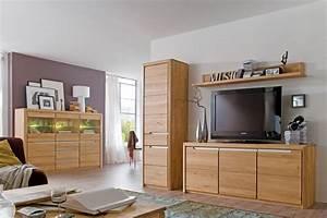 Wohnzimmer Eiche Massiv : wohnzimmer pisa 55 eiche bianco massiv 4 teilig wohnwand highboard wohnbereiche wohnzimmer ~ Markanthonyermac.com Haus und Dekorationen