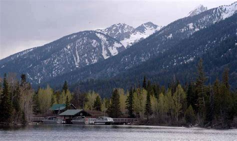 East Boat Dock Jenny Lake by Grand Teton Trail Improvements Mean Temporary Closures