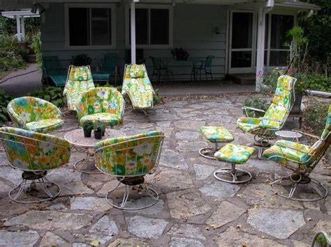 homecrest vintage patio furniture retro patio