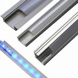 Led Profil Aussen : 1m 2m aluminium profil eloxiert led schlauch einbau aluprofil schiene strips ebay ~ Markanthonyermac.com Haus und Dekorationen