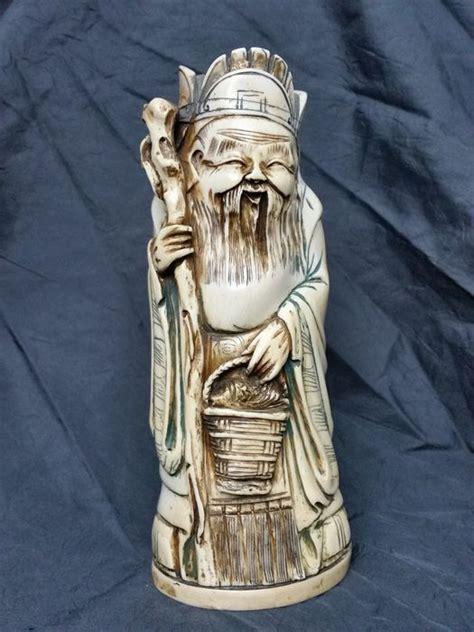 Speelgoed Uit China Importeren by Antiek Ivoren Beeld Oude Man China Ca 1900